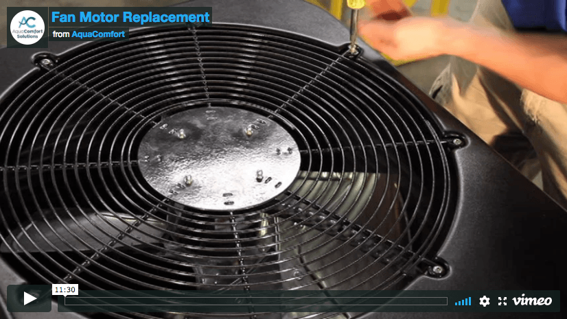 Fan Motor Replacement Video Poster