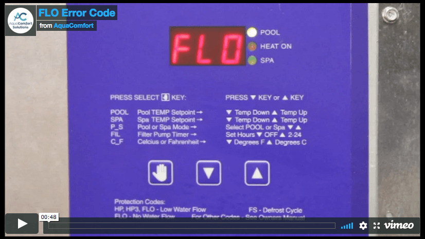 FLO Error Code Video Poster
