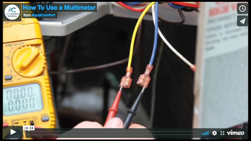 How to Use a Multimeter Video Poster